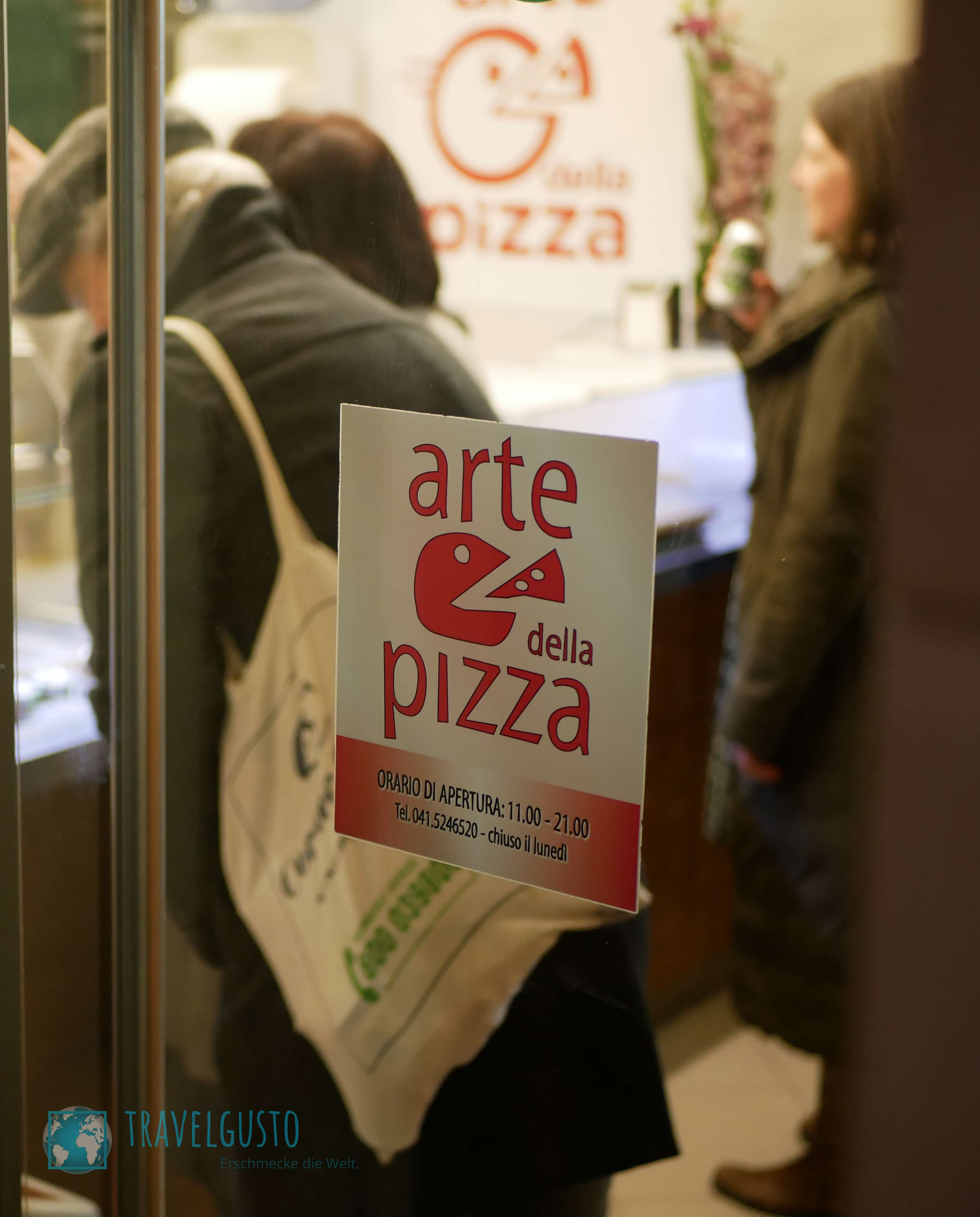 Pizza in Venedig