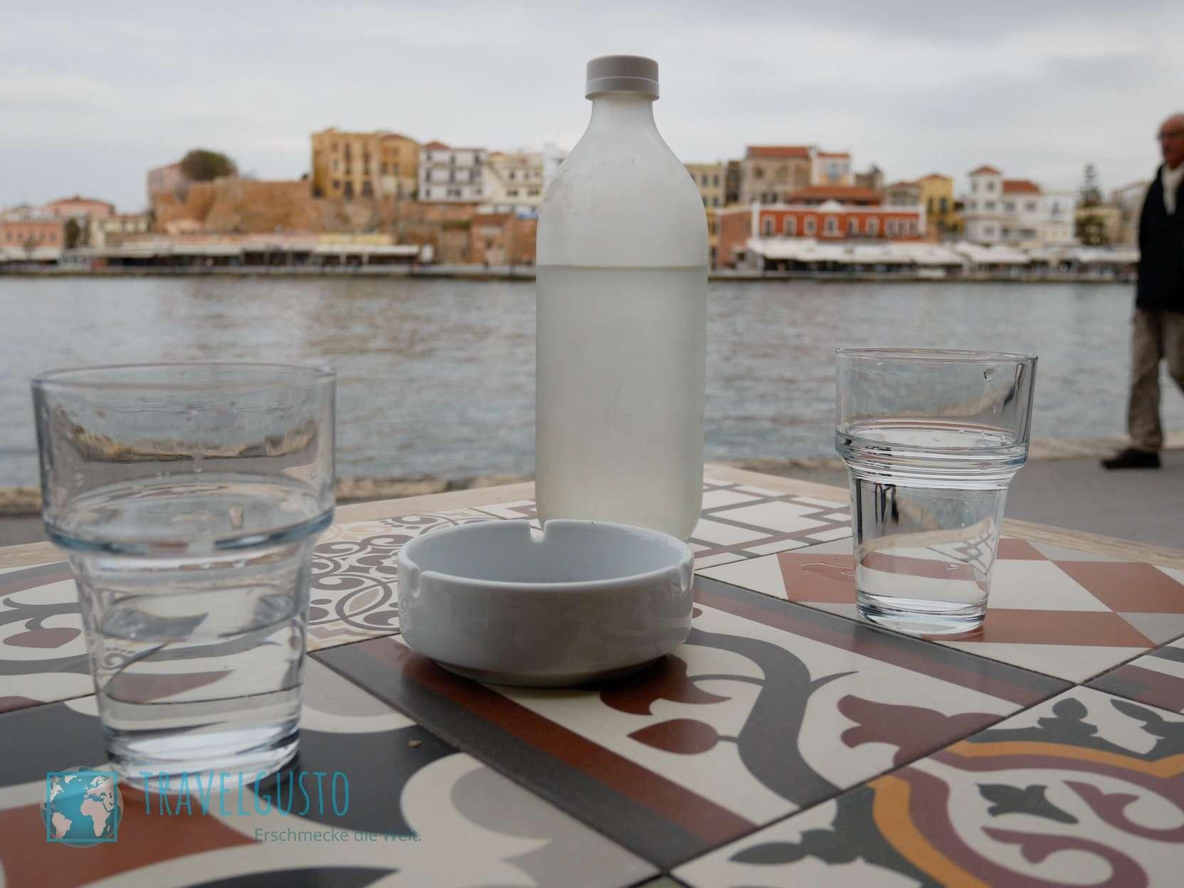 Kreta: Nationalgetränk Ouzu