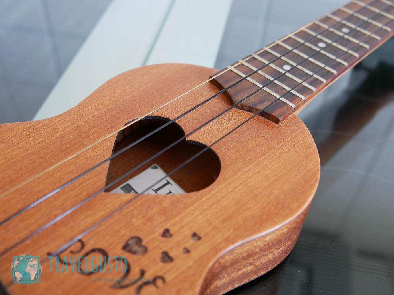 Sopranino-Ukuele – die perfekte Reisegitarre