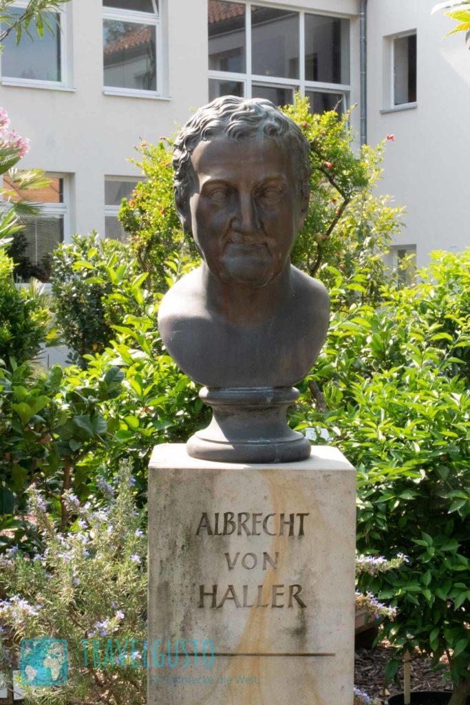 Albrecht von Haller Büste